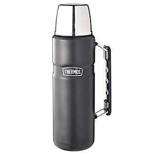 Thermos® King Black Large Flask