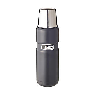 Thermos® King Black Small Flask
