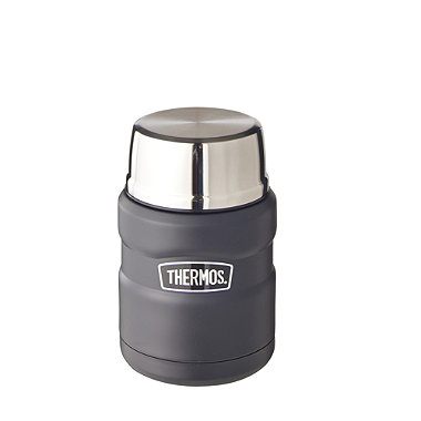 Thermos® King Black Small Food Flask