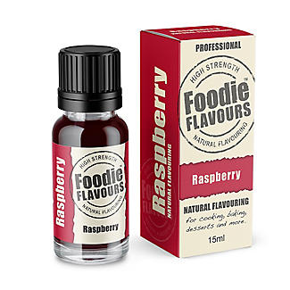 Foodie Flavours™ Natural Flavouring - Raspberry 15ml
