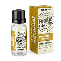 Natural Cake & Icing Flavour - 15ml Caramel