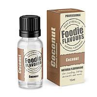 Natural Cake & Icing Flavour - 15ml Coconut