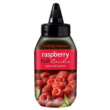 Devilishly Delicious Raspberry Coulis