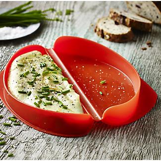 Lékué Microwave Cookware - Red Omelette Maker  alt image 2