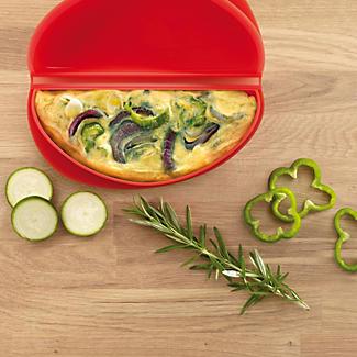 Lékué Microwave Cookware - Red Omelette Maker  alt image 3