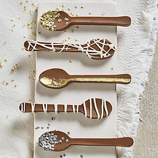 Silicone Mini Chocolate Spoons Mould alt image 2