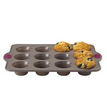 Lakeland Silicone 12 Hole Muffin Pan