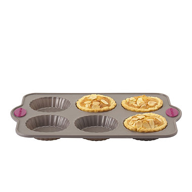 Lakeland Silicone 6 Hole Tartlet Pan
