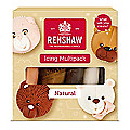 Renshaw Ready To Roll Coloured Icing - 5 x 100g Natural Colours
