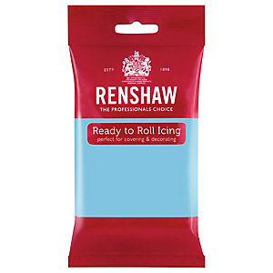 Renshaw Ready to Roll Coloured Icing - 250g Baby Blue