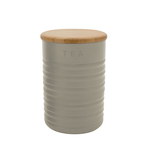 Typhoon® Ripple Tea Canister – Stone