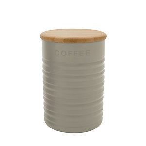 Typhoon® Ripple Coffee Canister – Stone