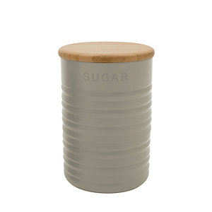 Typhoon® Ripple Sugar Canister – Stone