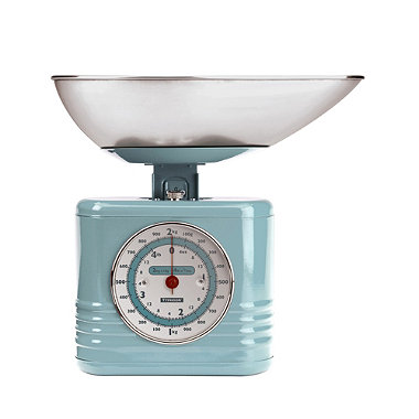 Typhoon® Vintage Kitchen Scales – Blue