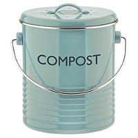 Typhoon® Vintage Caddy Food Compost Bin - Blue 2.5L