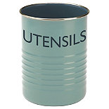 Typhoon® Vintage Kitchen Utensil Pot – Blue