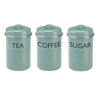 Typhoon® Vintage Kitchen 3-Piece Caddy Set – Blue