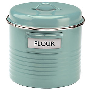 Typhoon® Vintage Kitchen Large Storage Canister – Blue