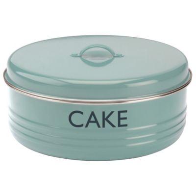 typhoon vintage kitchen cake storage tin blue. Black Bedroom Furniture Sets. Home Design Ideas