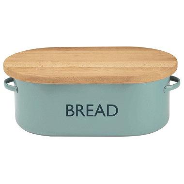 Typhoon® Vintage Kitchen Bread Bin – Blue