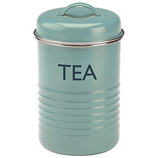 Typhoon® Vintage Kitchen Tea Canister – Blue
