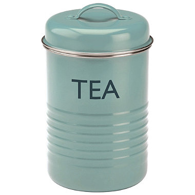 Typhoon® Vintage Kitchen Tea Canister – Blue