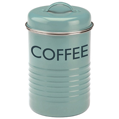 Typhoon® Vintage Kitchen Coffee Canister – Blue