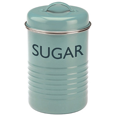 Typhoon® Vintage Kitchen Sugar Canister – Blue