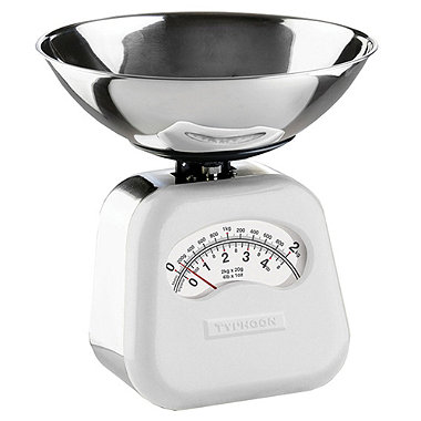 Typhoon® Novo Mechanical Scale – White