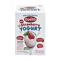 EasiYo Bio Low Fat Stevia Strawberry