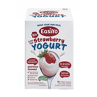 EasiYo Bio Low Fat Stevia Strawberry alt image 1