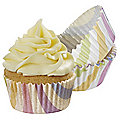 80 Stripes Cupcake Cases