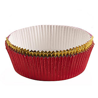 8 Luxury Foil Cake Tin Liners