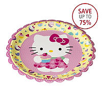 12 Hello Kitty Plates