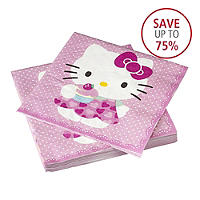 Hello Kitty 20 Large Napkins