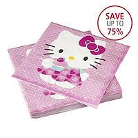 Hello Kitty 20 Large Napkins