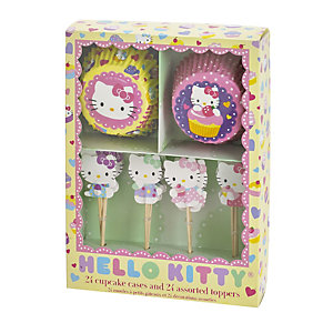 Hello Kitty Cupcake Kit