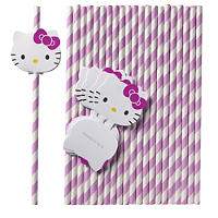 Hello Kitty 24 Straws