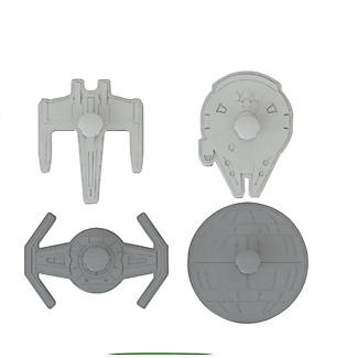 Star Wars™ Ships Cookie Cutters alt image 1