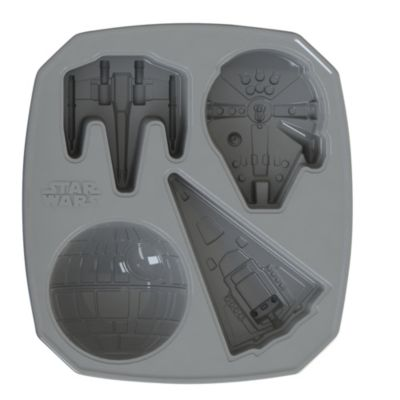 Star Wars Ships Shaped Silicone Cake Mould 4 Designs