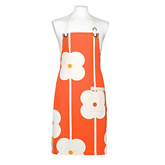 Abacus Flower Red Apron