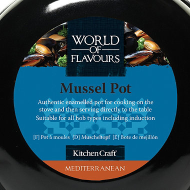 Medium Mussel Pot