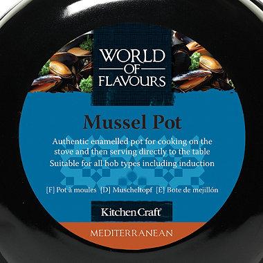 Medium Mussel Pot