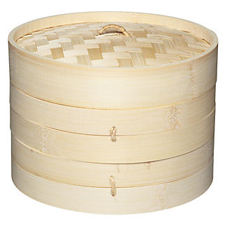 2 Tier Bamboo Steamer
