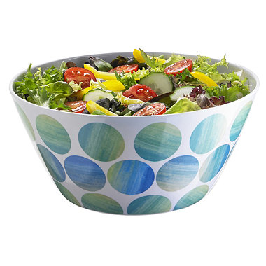 Sea Breeze Melamine Salad Bowl