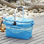 Sea Breeze Collapsible Basket