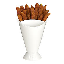 Joie Plastic Dipping Cone Bread Stick Serving Bowl