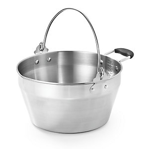 4.5L Stainless Steel Maslin Jam Making Pan & Handle