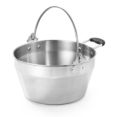 4.5 litre Stainless Steel Maslin Pan
