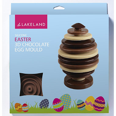 3D Chocolate Egg Mould